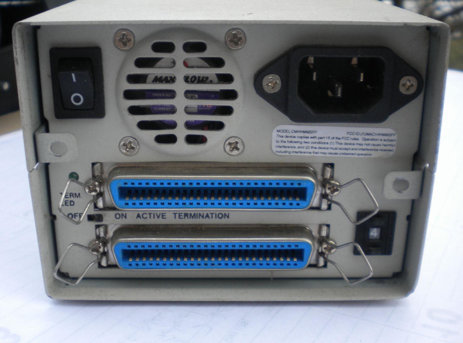 Mac Hard Drives Cd Rom Etc Scsi To Usb Wiring Diagram Club Brand And Back Panel