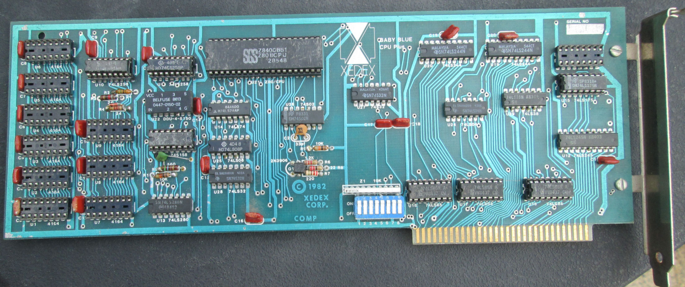 Herbs Odds And Ends Blue Circuit Board Label Cards As Pictured Or One With A Pale But Identical Layout Chipset Dram Chips Removed On All Of Them