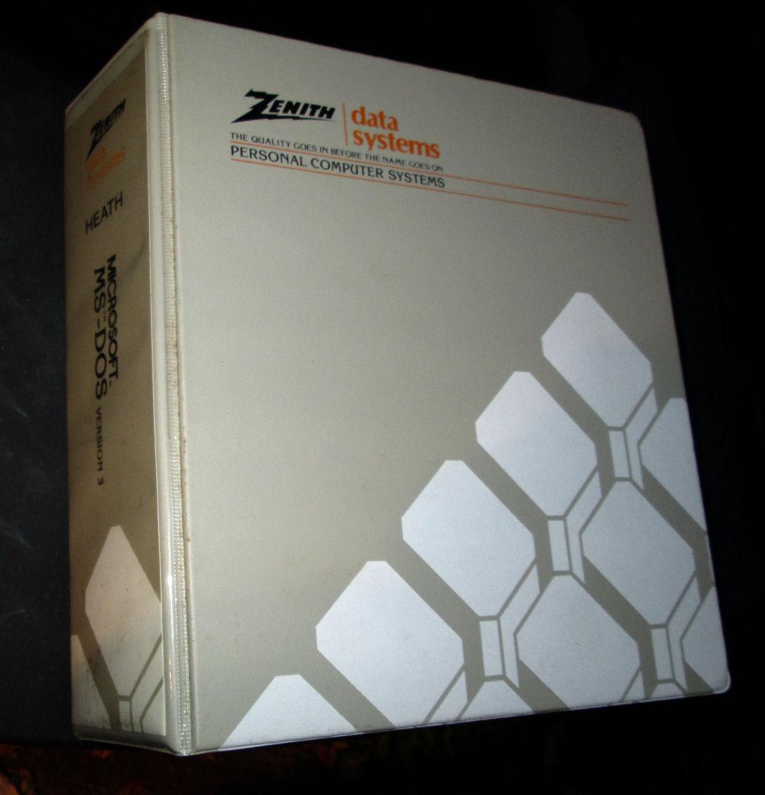 Heath, Zenith computer manuals, software