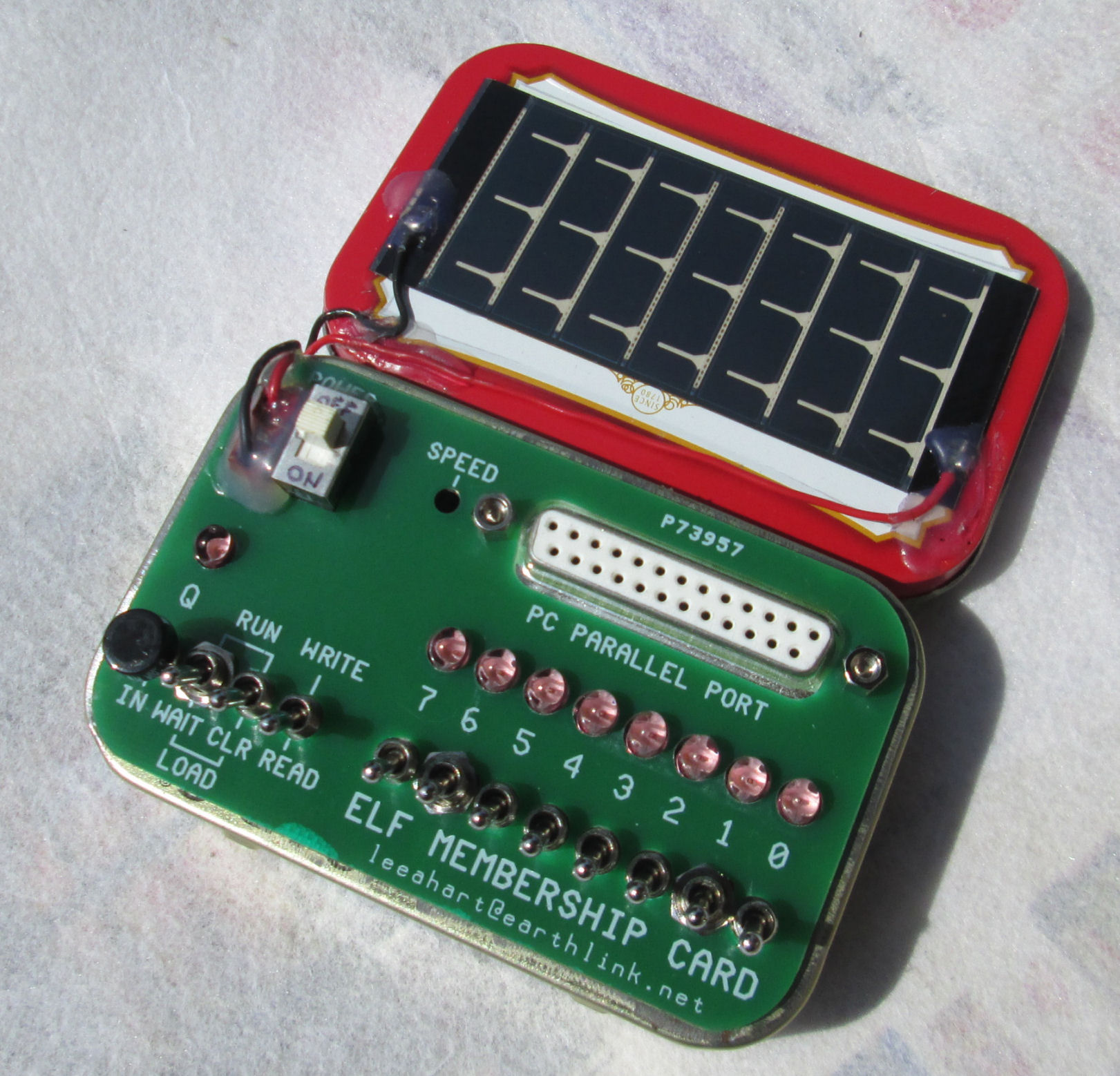 Solar Powered Cosmac Led From Radioshack Not A High Simple 20ma Specetc