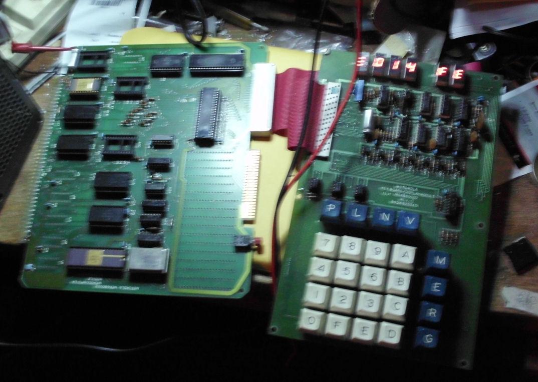 Motorola MEK6800D2 computer