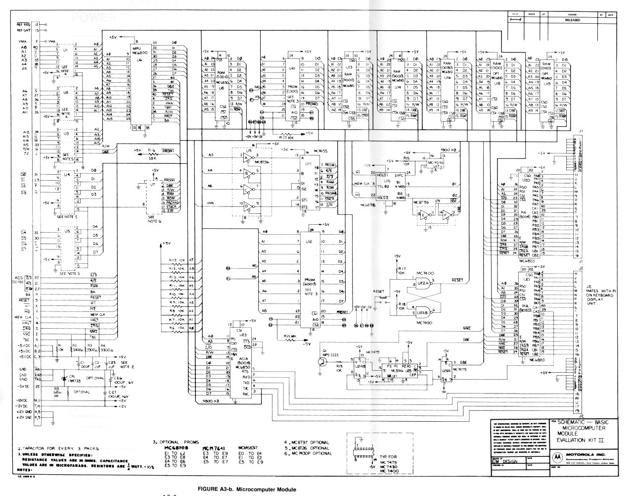 ... the schematic for the keyboard/display is here.