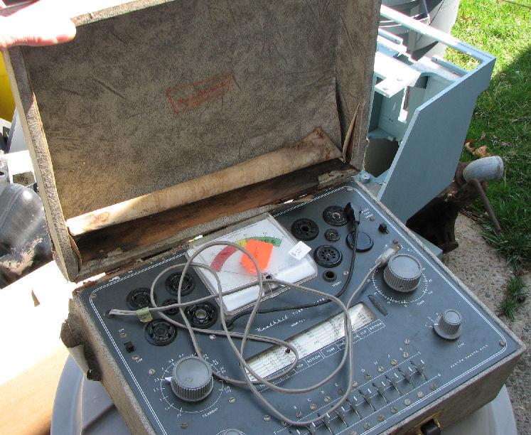 Heath TC-2 Vacuum Tube Checker