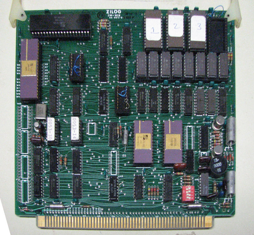 Zilog MCZ 1/20 Z80 system